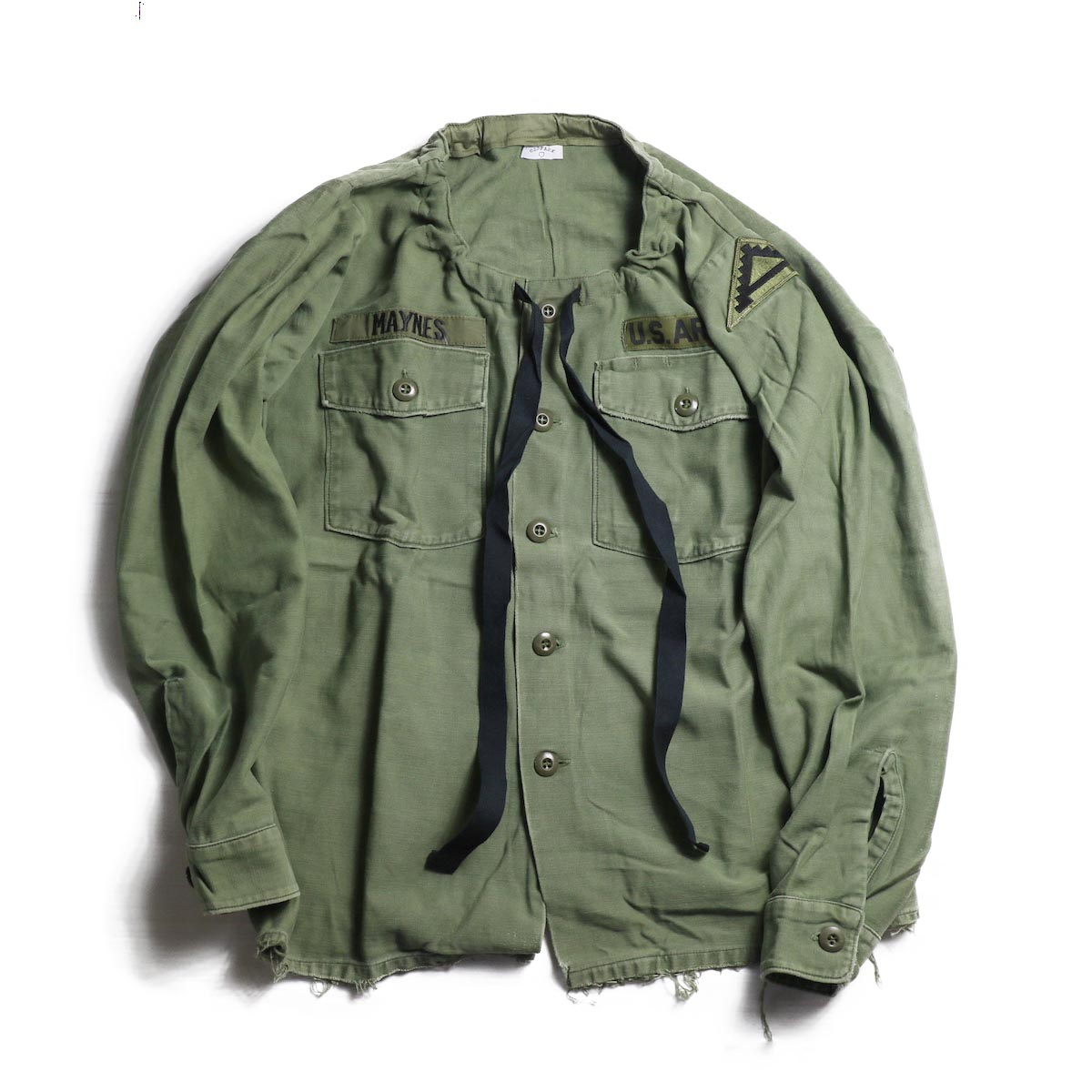 OLD PARK / SPINDLE SHIRT -MILITARY(A)