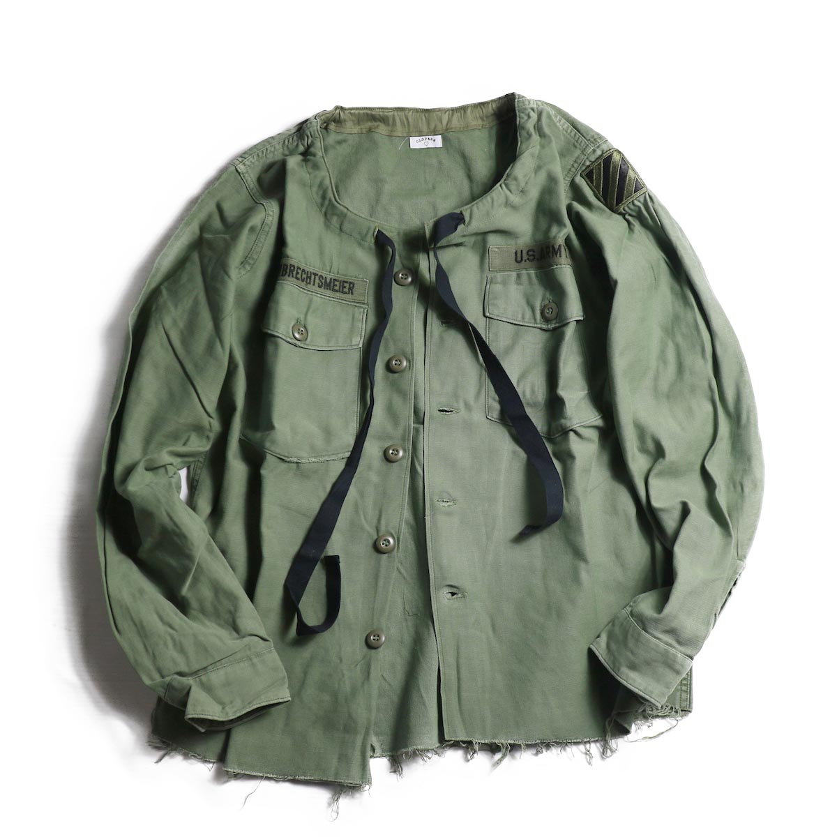 OLD PARK / SPINDLE SHIRT -MILITARY(B)