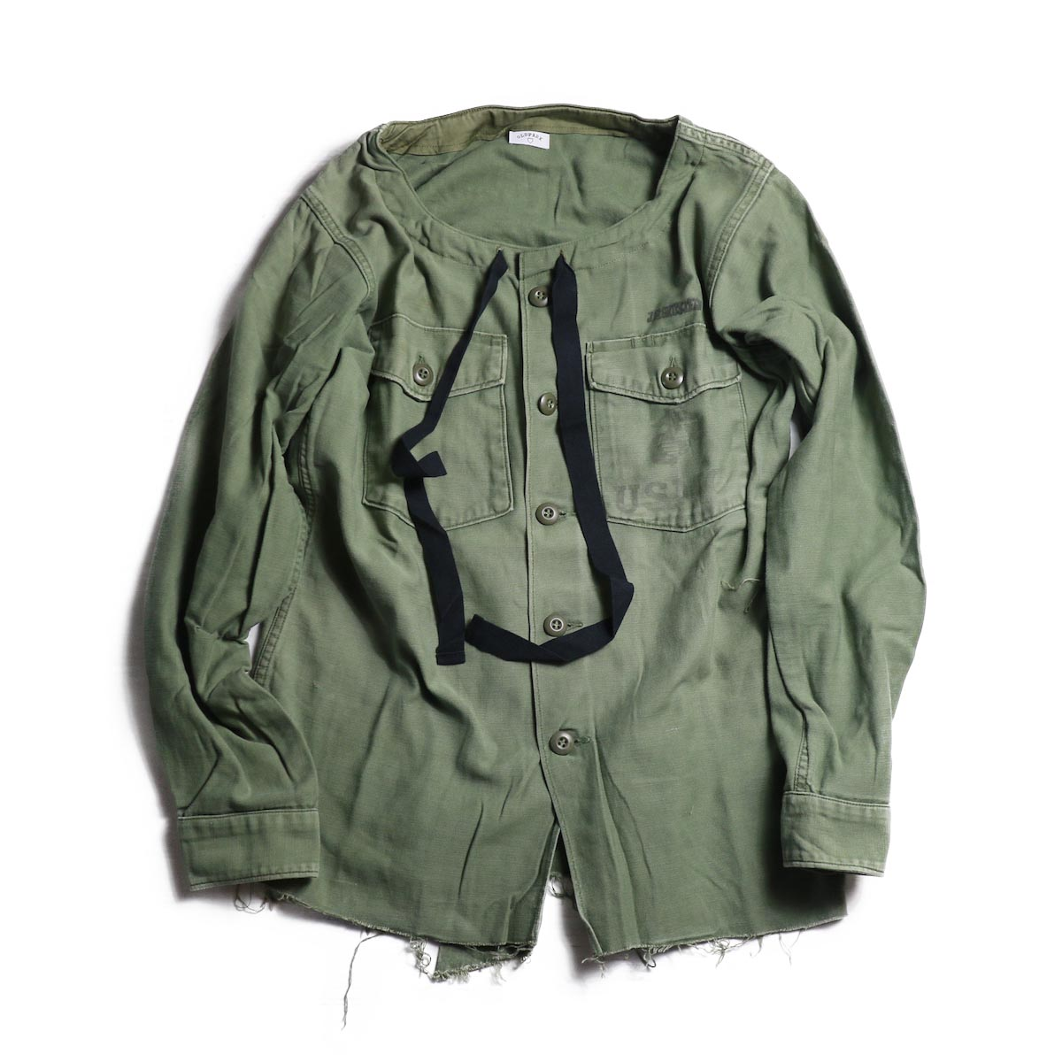 OLD PARK / SPINDLE SHIRT -MILITARY(D)