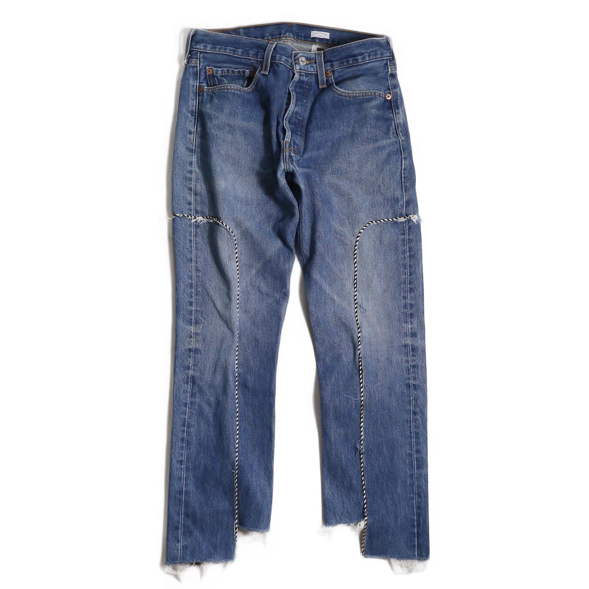 OLD PARK / WESTERN JEANS -INDIGO Msize (A)