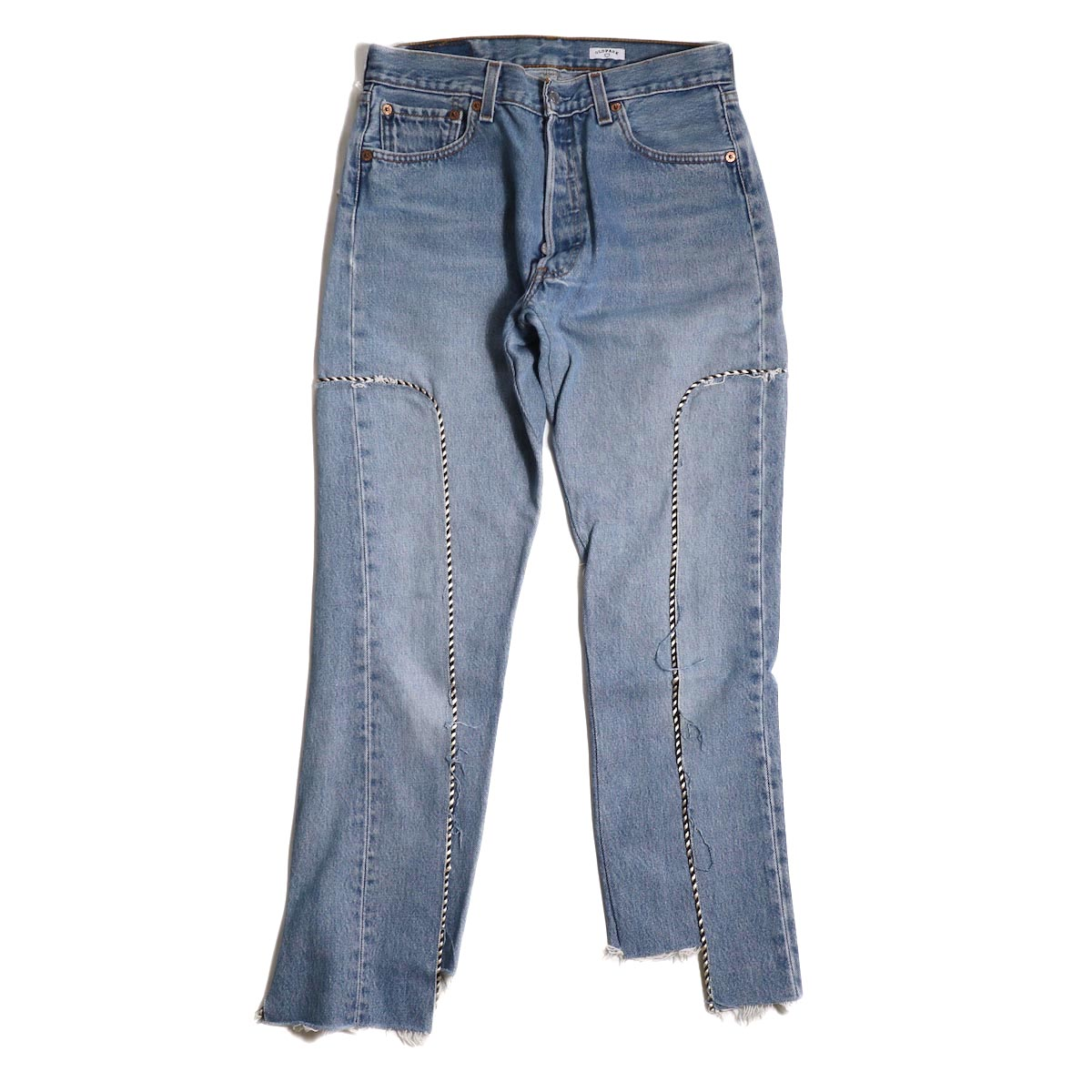 OLD PARK / WESTERN JEANS -INDIGO Ssize (B)