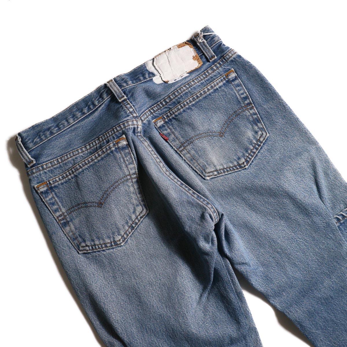 OLD PARK / 7Pocket Jeans -Blue (Msize-A)ヒップポケット