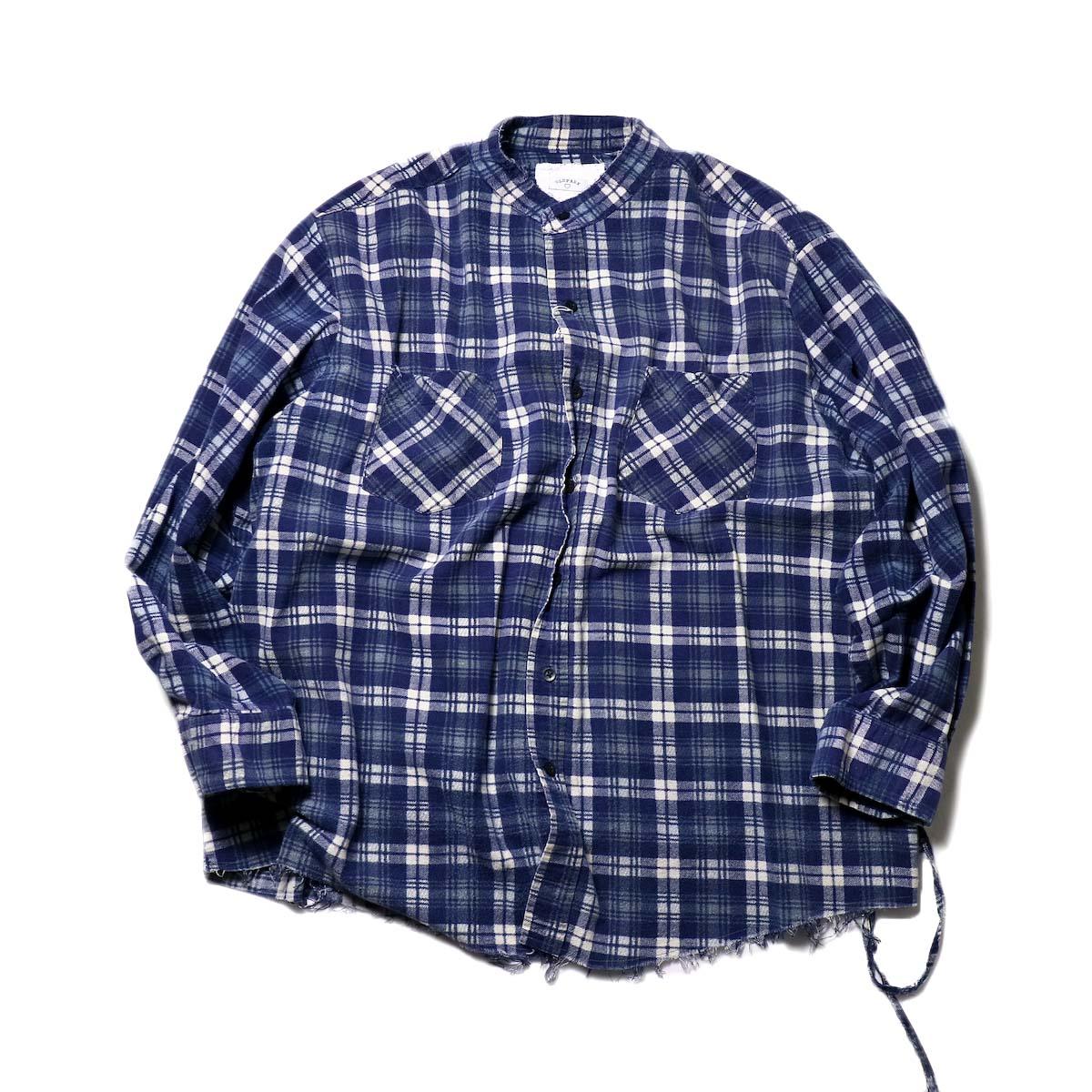 OLD PARK / Bandana Bag Shirt Flannel (A)