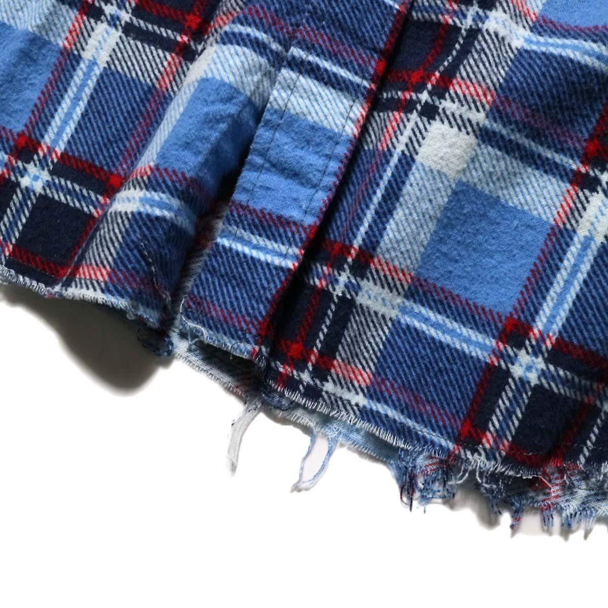 OLD PARK / Bandana Bag Shirt Flannel (B)ジップ