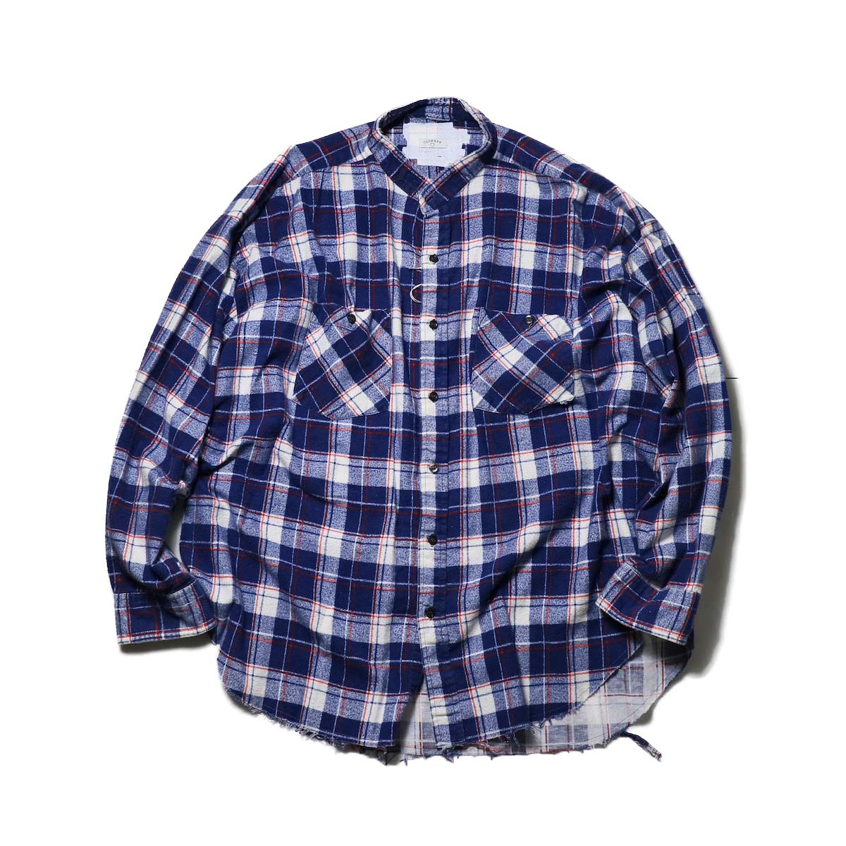 OLD PARK / Bandana Bag Shirt Flannel (D)