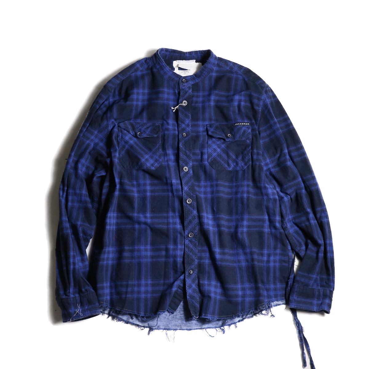 OLD PARK / Bandana Wide Shirt Flannel (A)
