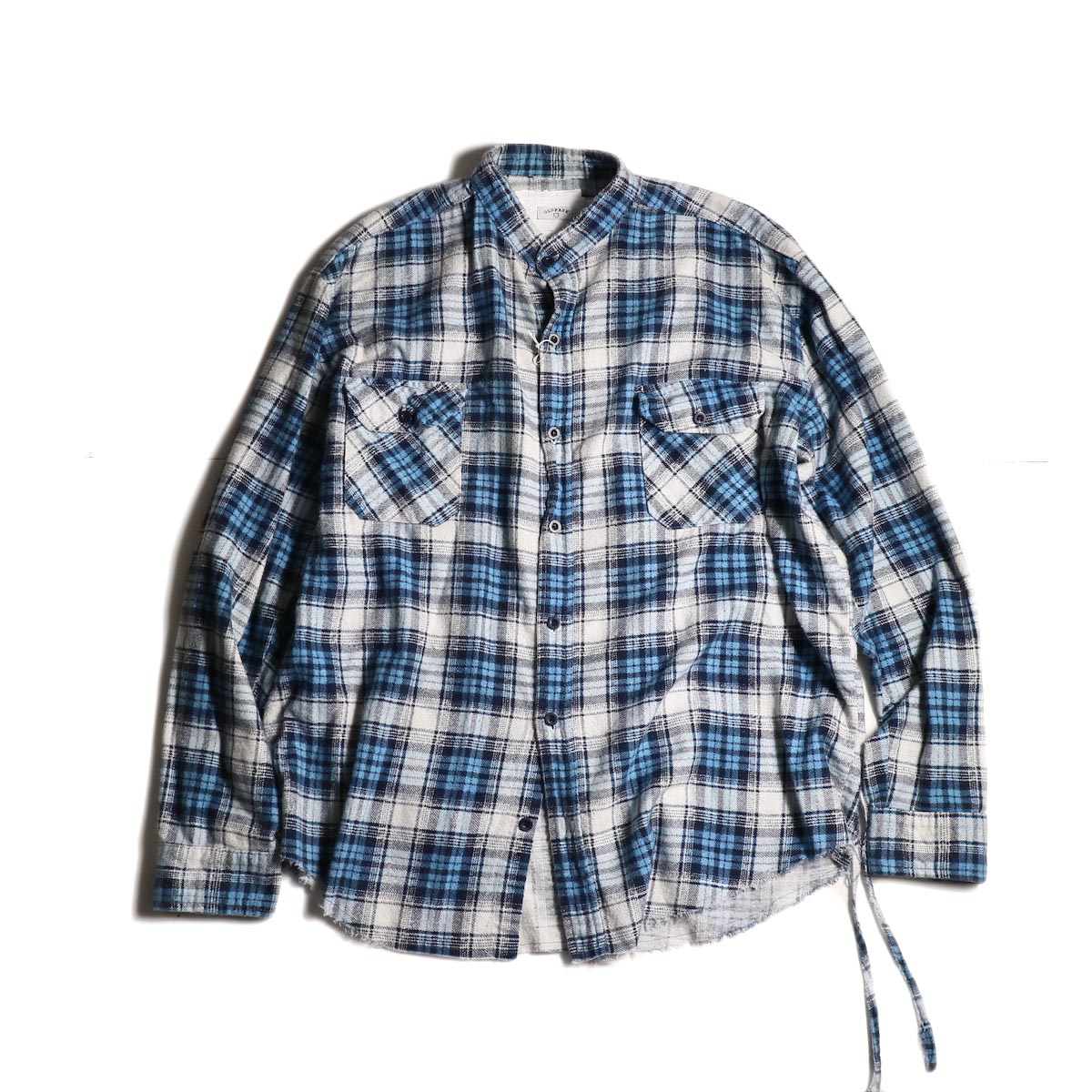OLD PARK / Bandana Wide Shirt Flannel (B)