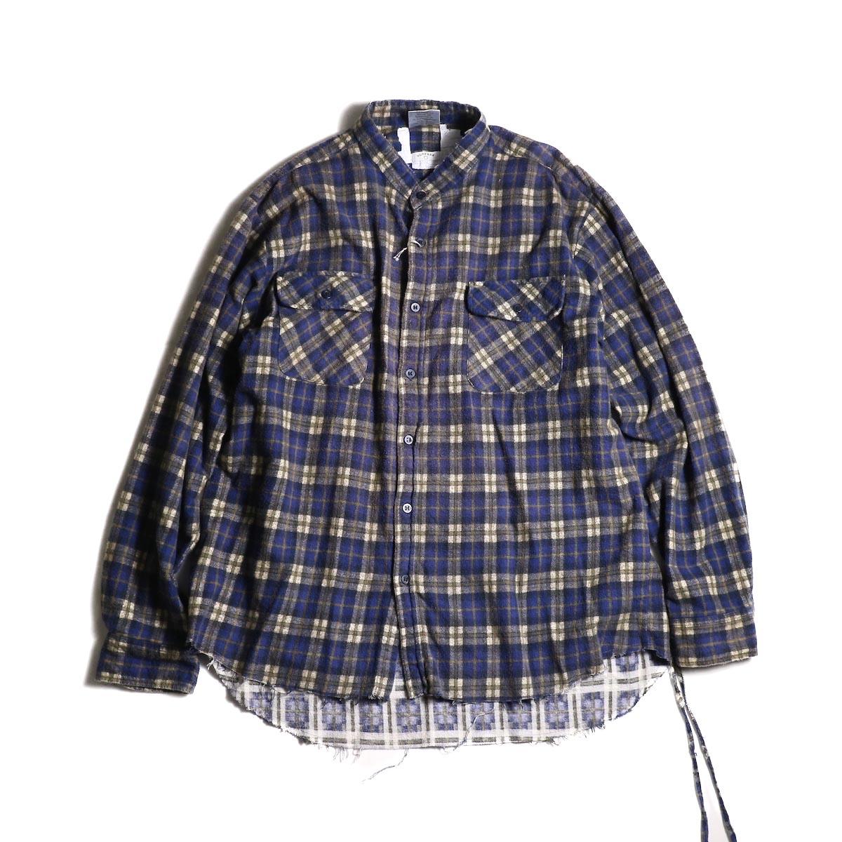 OLD PARK / Bandana Wide Shirt Flannel (C)