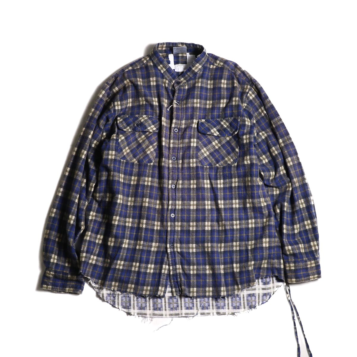 OLD PARK / Bandana Wide Shirt Flannel (C)