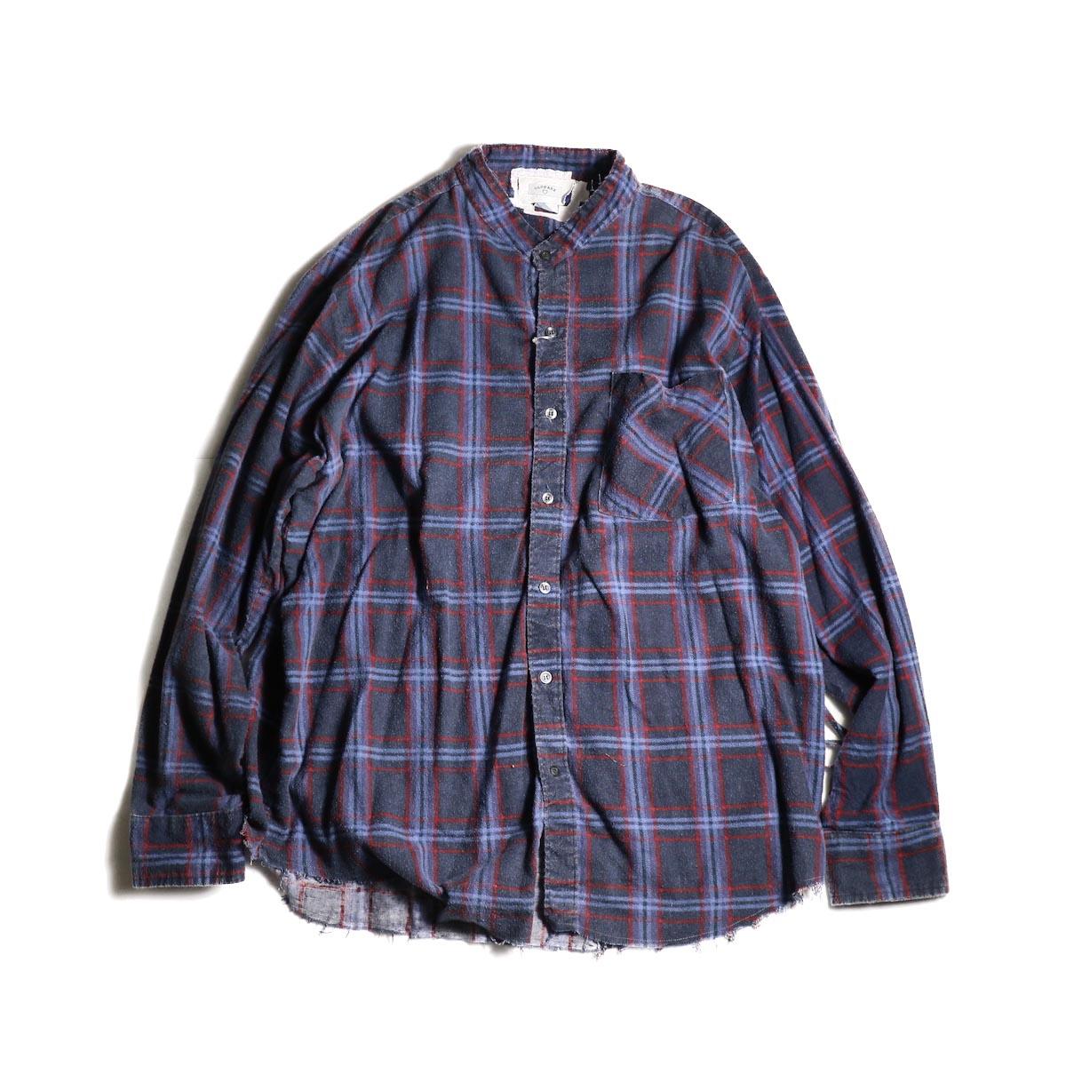 OLD PARK / Bandana Wide Shirt Flannel (D)