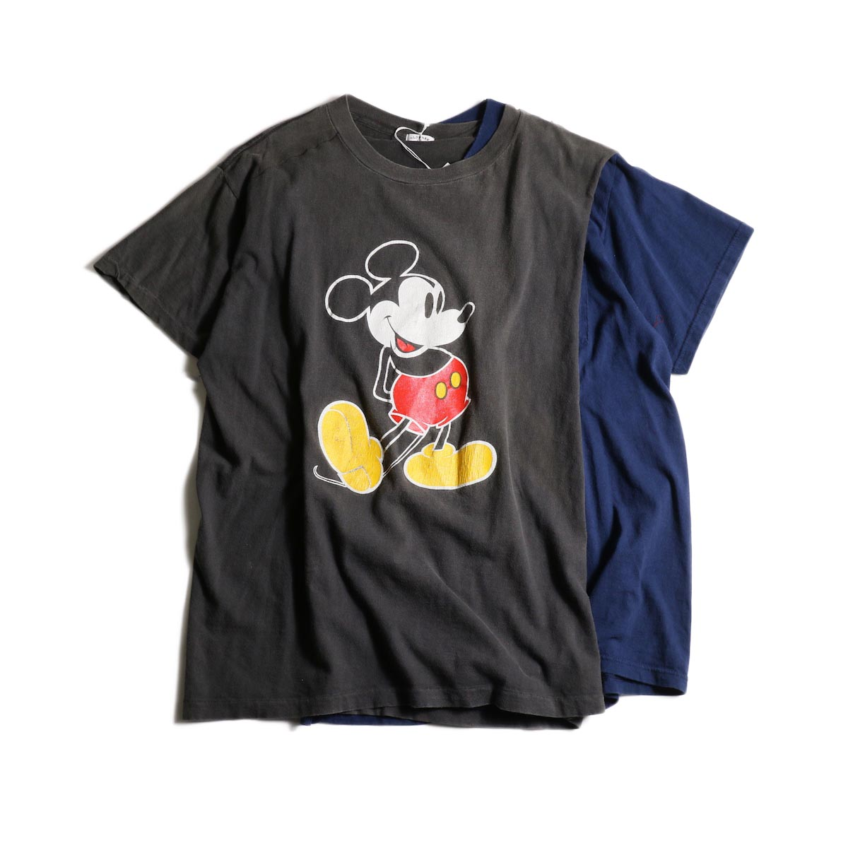 OLD PARK / Cross Tee -MICKEY × POCKET正面