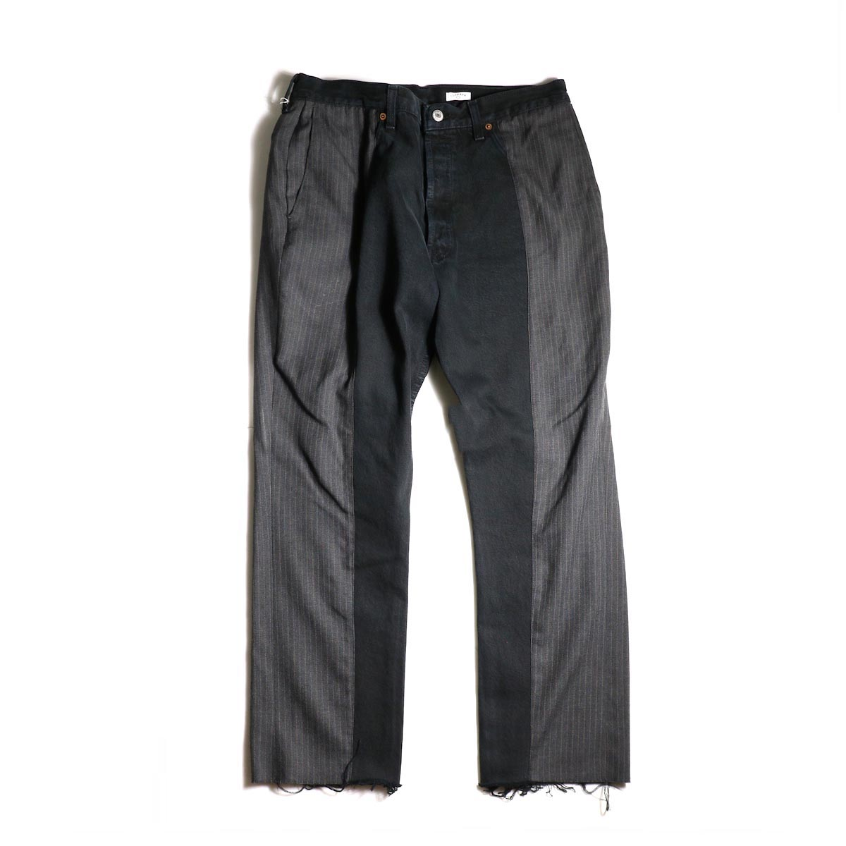 OLD PARK / Docking Jeans Black (Lsize)