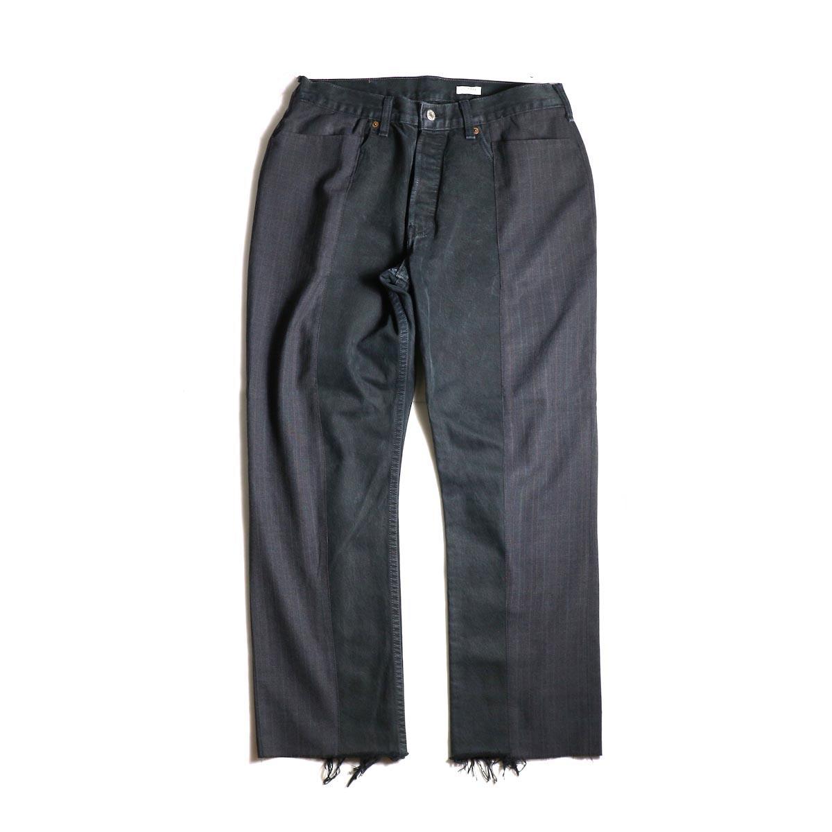 OLD PARK / Docking Jeans Black (Msize-A)正面