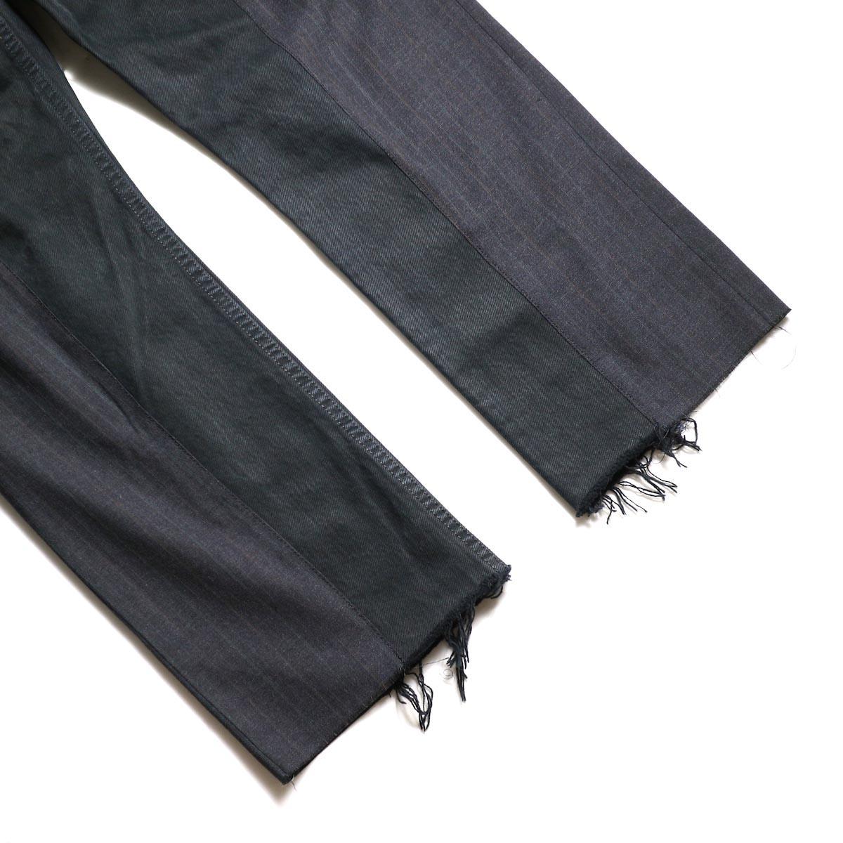 OLD PARK / Docking Jeans Black (Msize-A)裾