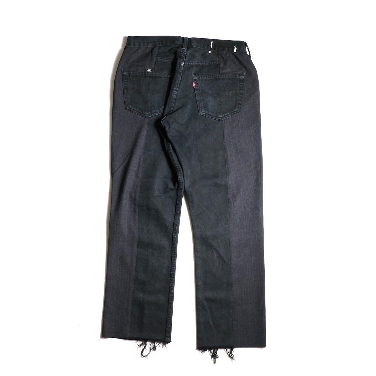 OLD PARK / Docking Jeans Black (Msize-A)背面