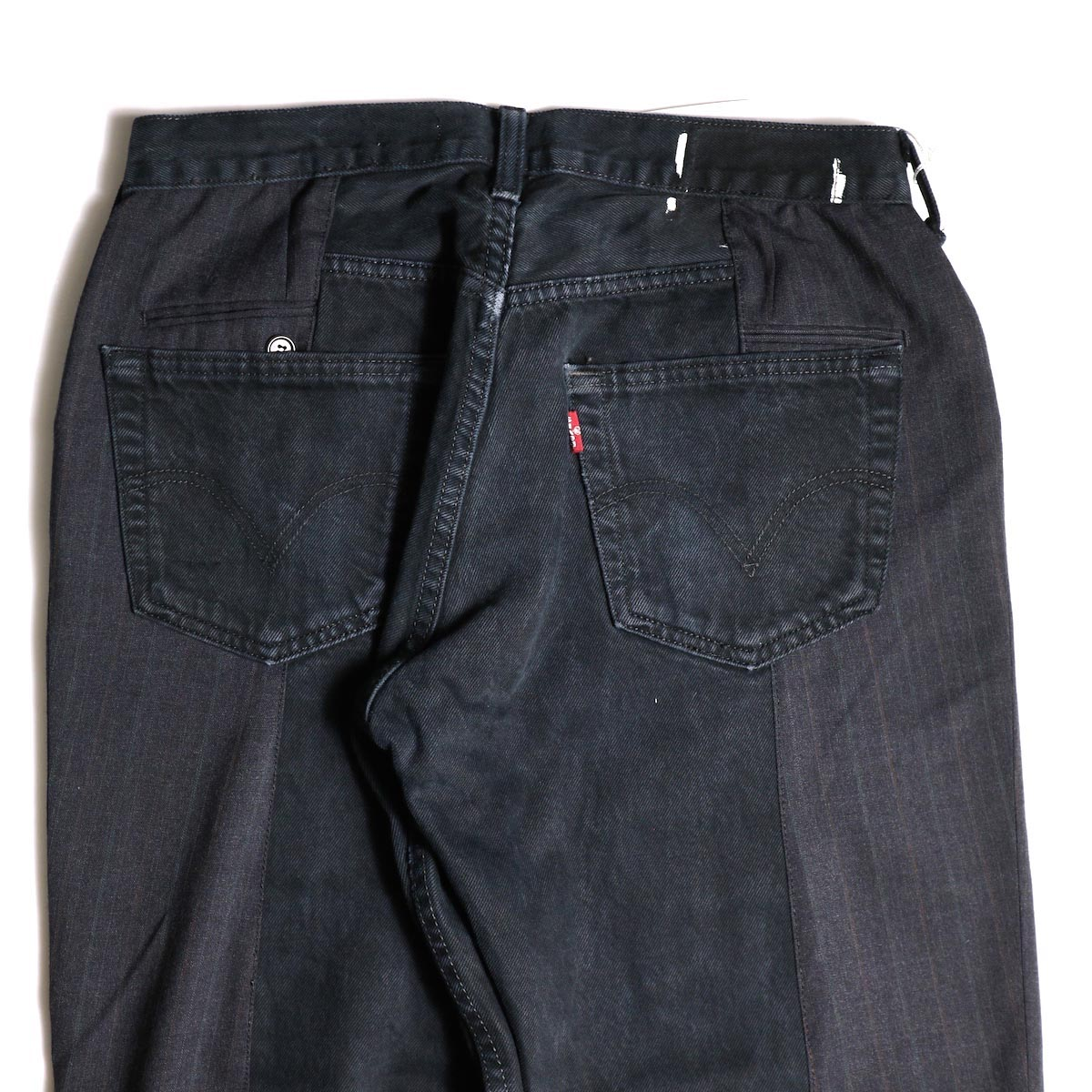 OLD PARK / Docking Jeans Black (Msize-A)ヒップポケット
