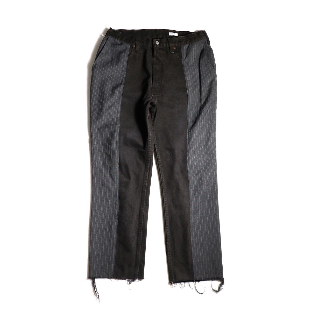 OLD PARK / Docking Jeans Black (Msize-B)