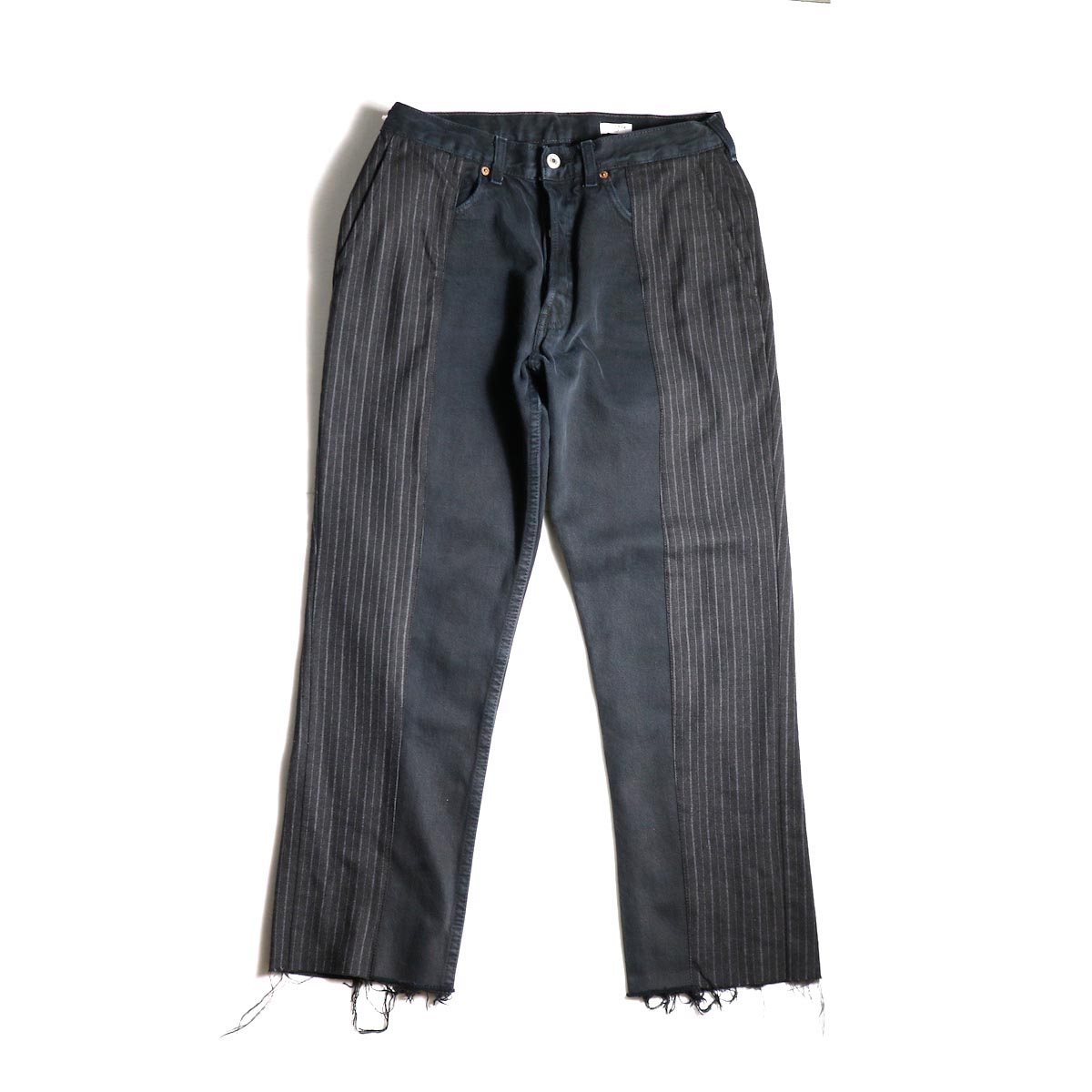 OLD PARK / Docking Jeans Black (Ssize-A)正面