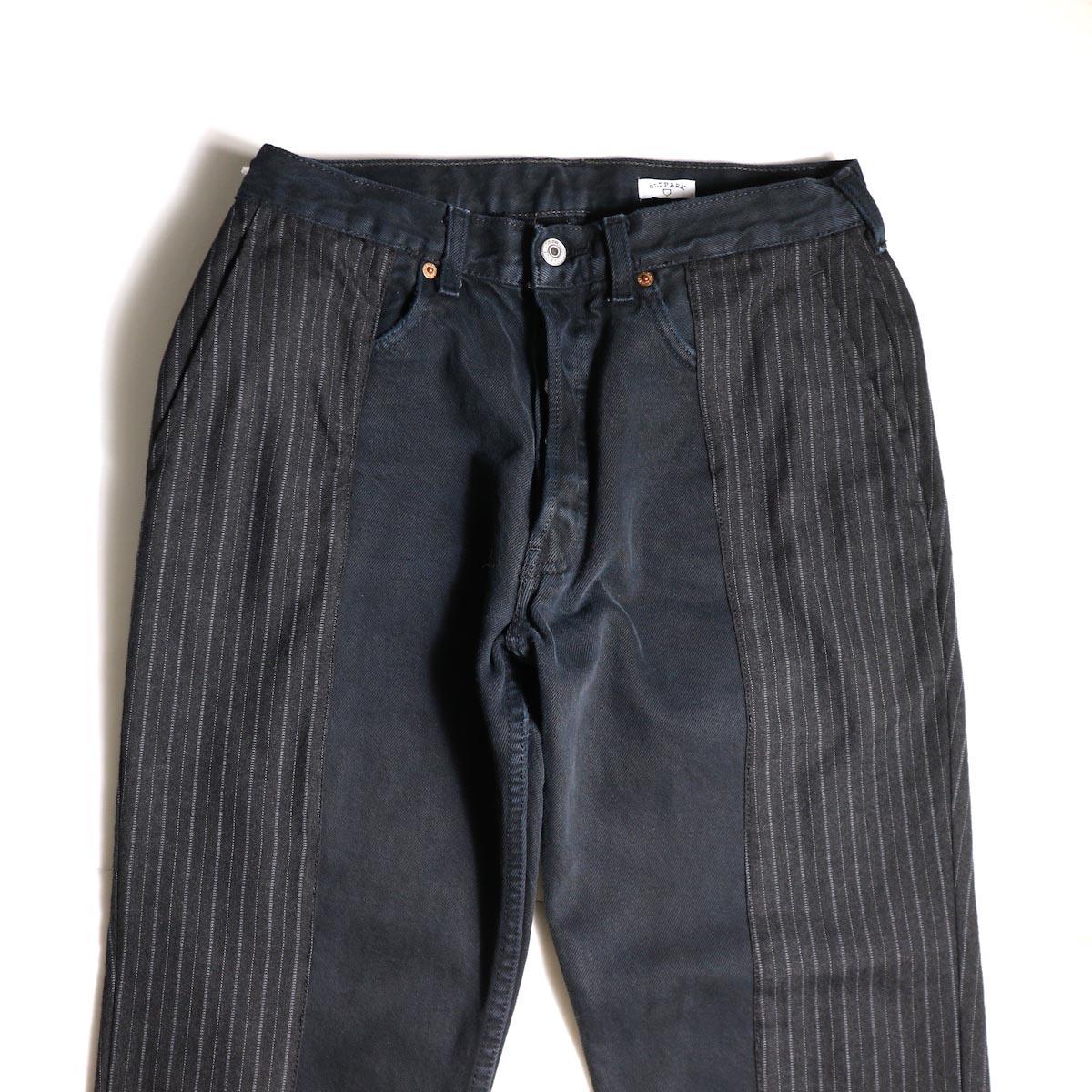 OLD PARK / Docking Jeans Black (Ssize-A)ウエスト