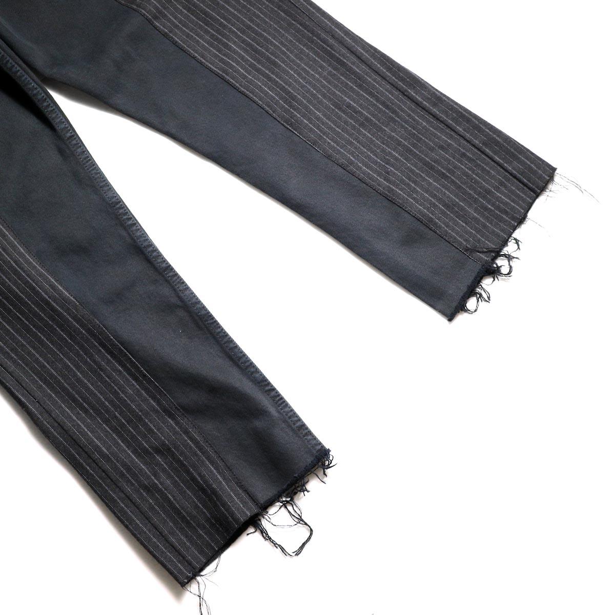 OLD PARK / Docking Jeans Black (Ssize-A)裾