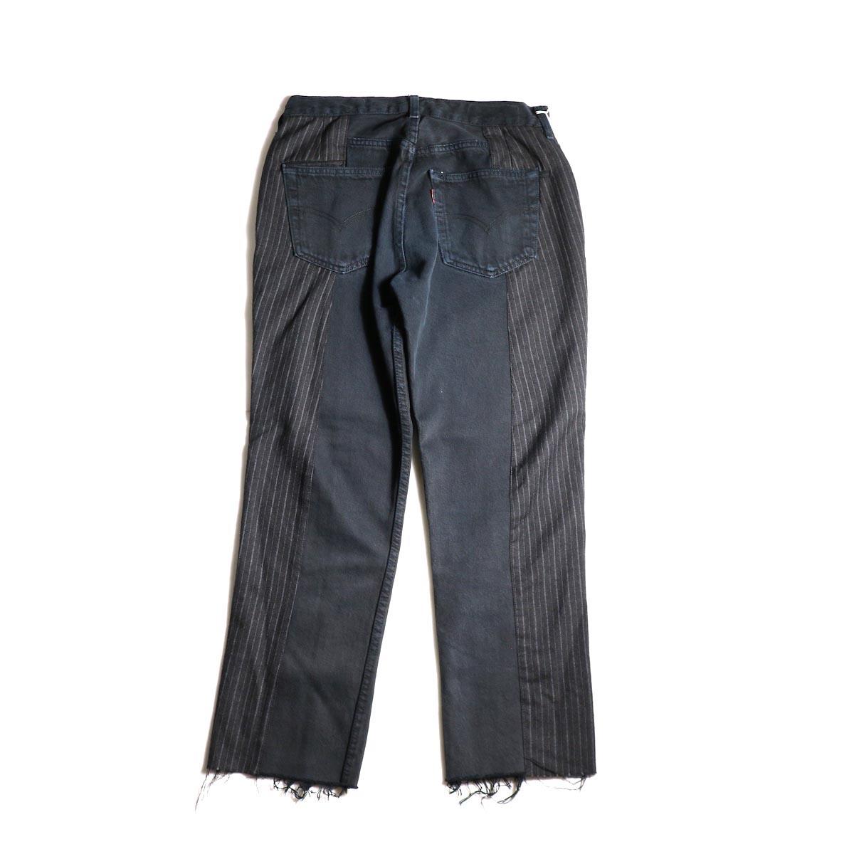 OLD PARK / Docking Jeans Black (Ssize-A)背面