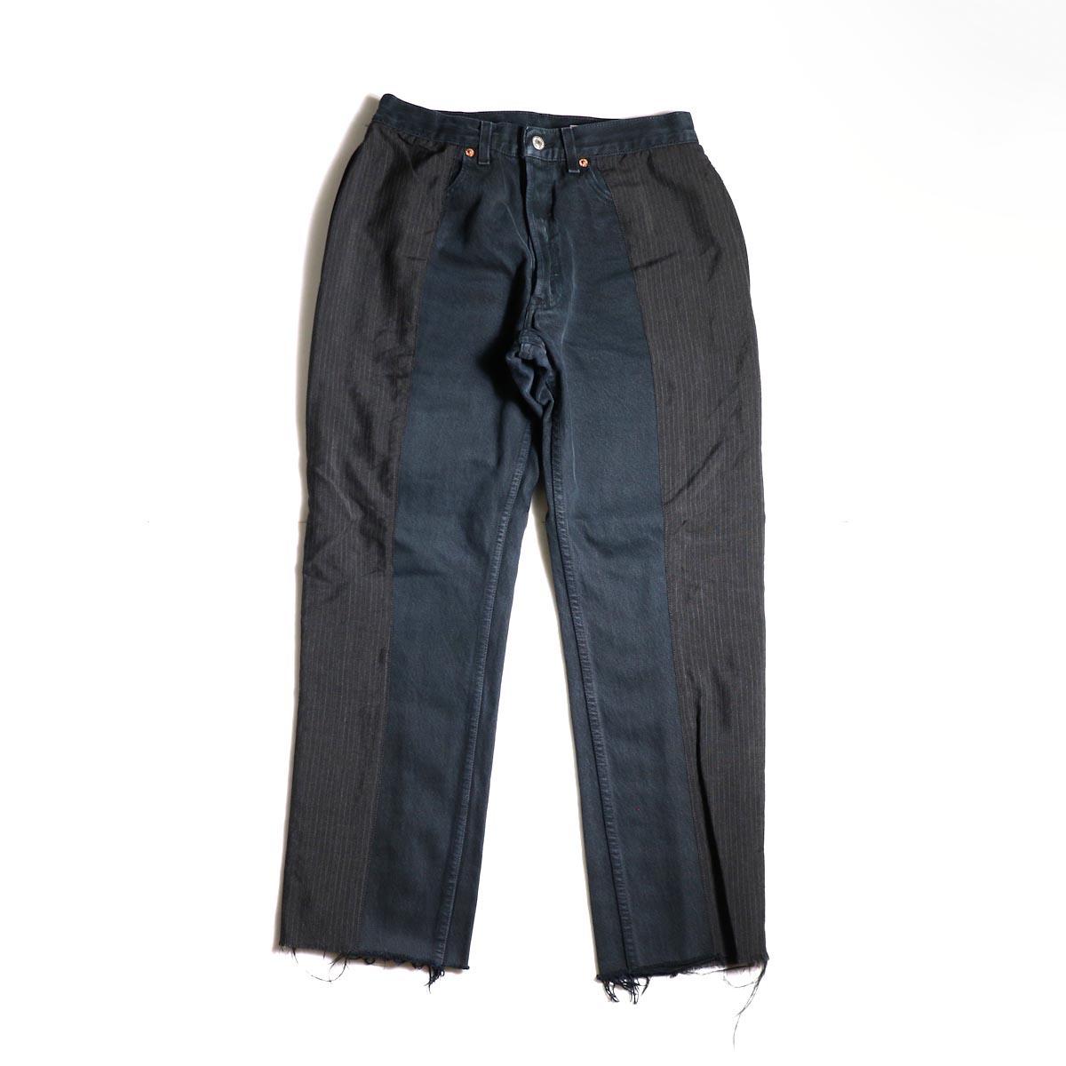 OLD PARK / Docking Jeans Black (Ssize-B)正面