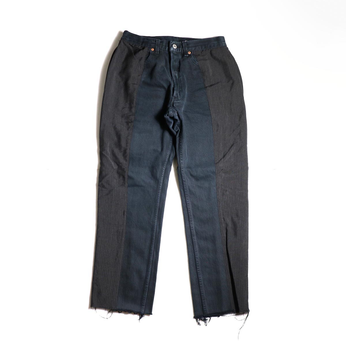 OLD PARK / Docking Jeans Black (Ssize-B)