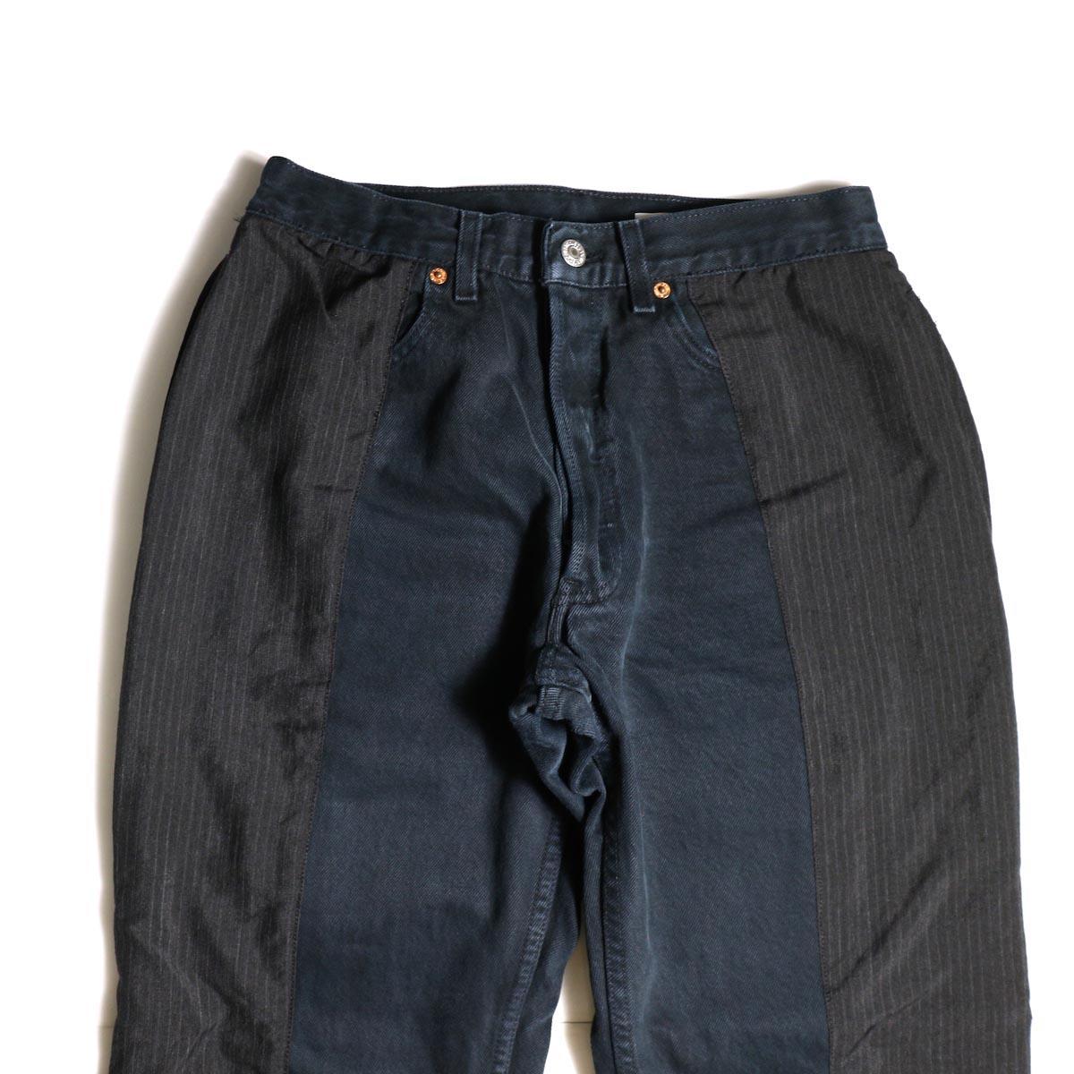 OLD PARK / Docking Jeans Black (Ssize-B)ウエスト