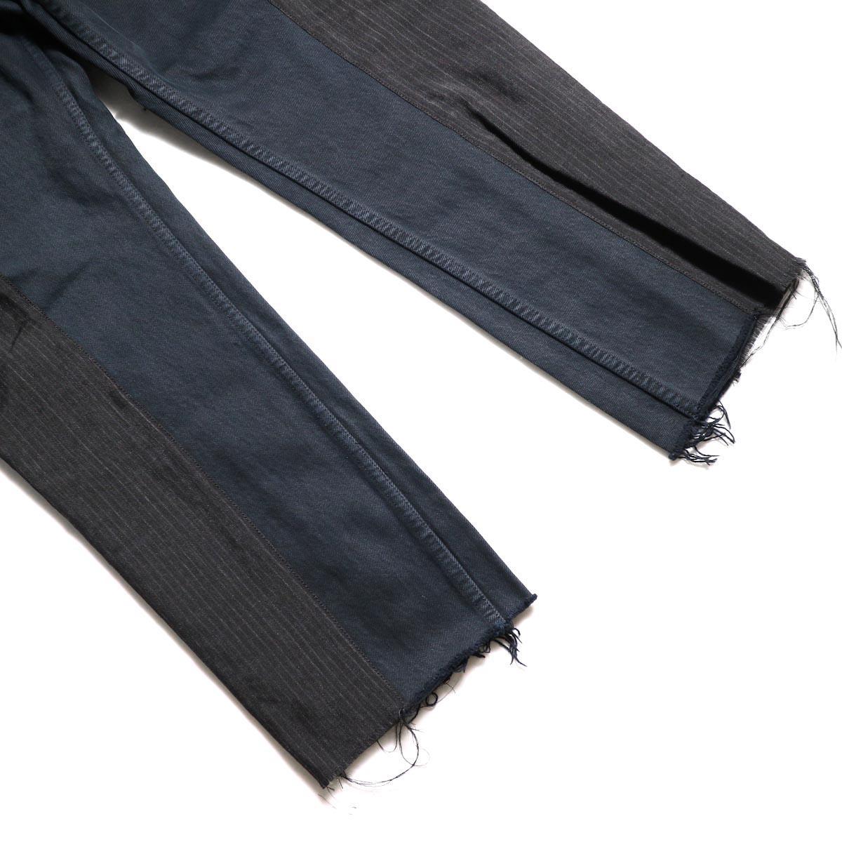 OLD PARK / Docking Jeans Black (Ssize-B)裾