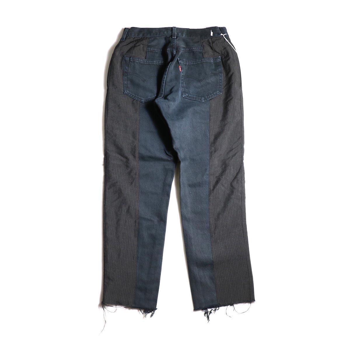 OLD PARK / Docking Jeans Black (Ssize-B)背面