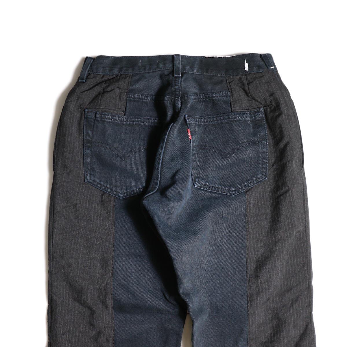 OLD PARK / Docking Jeans Black (Ssize-B)ヒップポケット