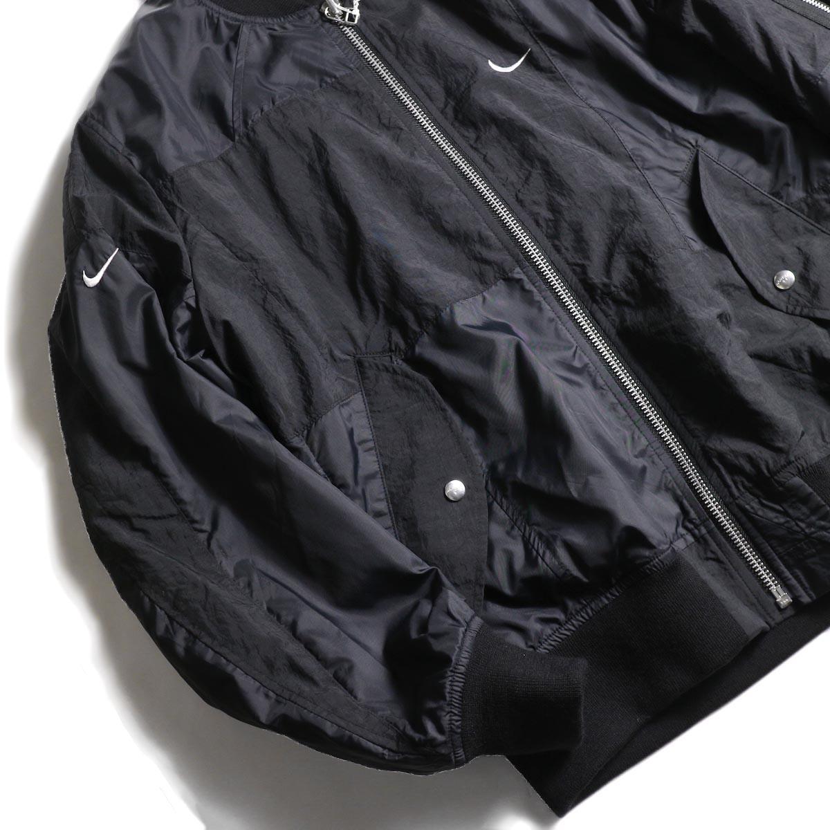OLD PARK / Flight Jacket Sports Nike 袖②