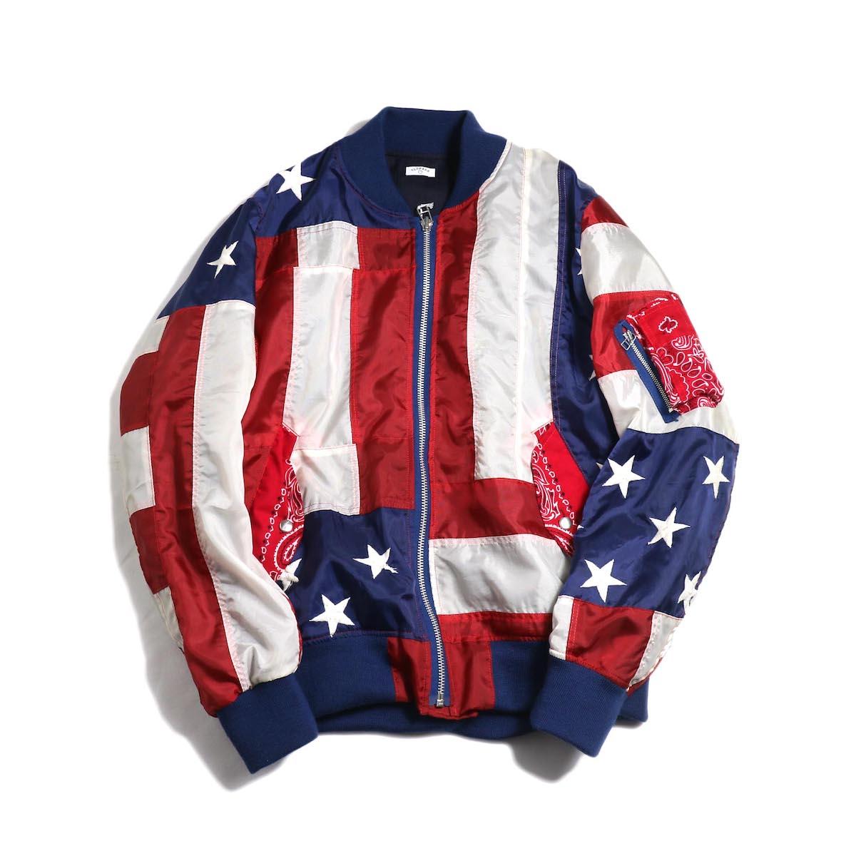 OLD PARK / Flight Jacket -Stars&Stripes