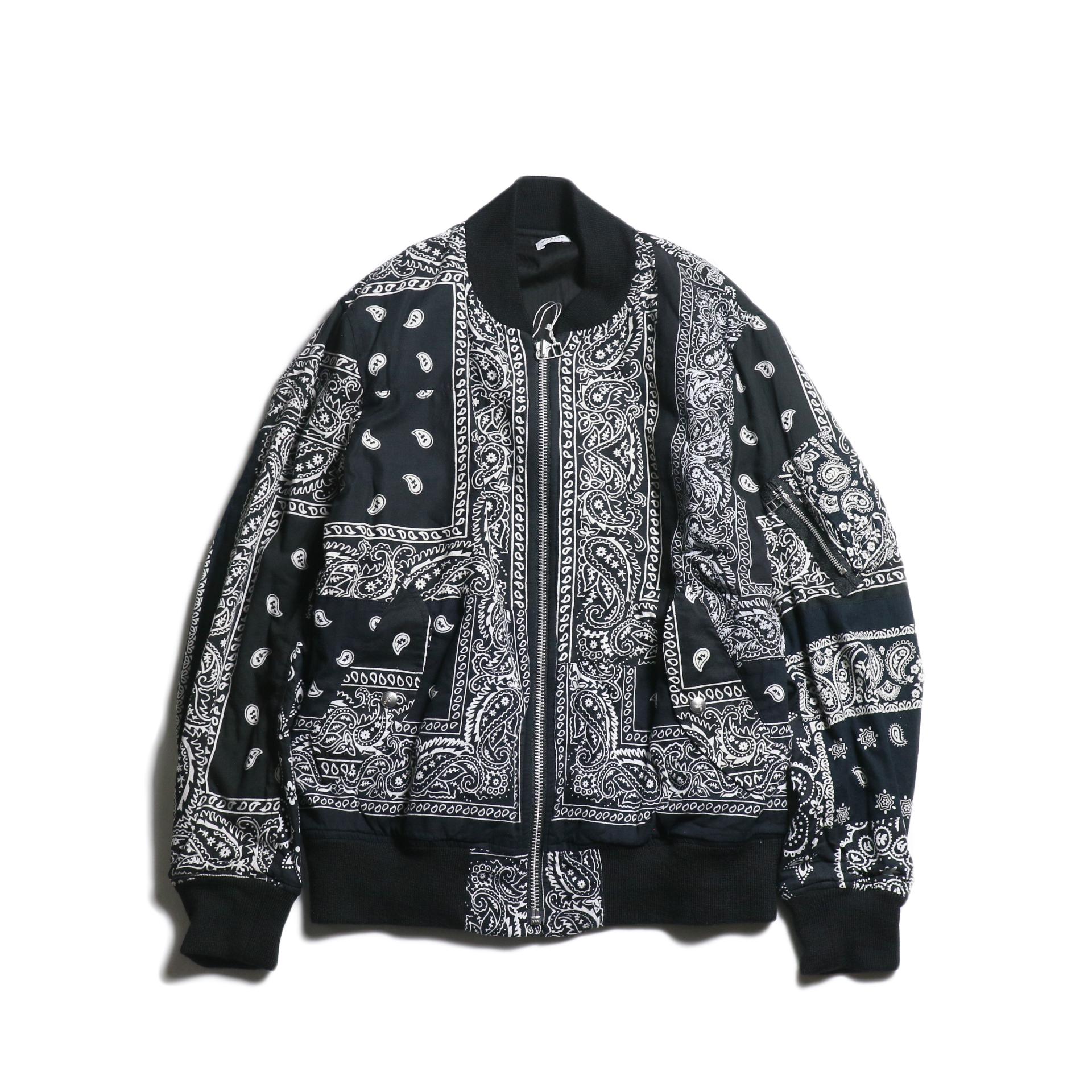 OLD PARK / Flight Jacket (Black)