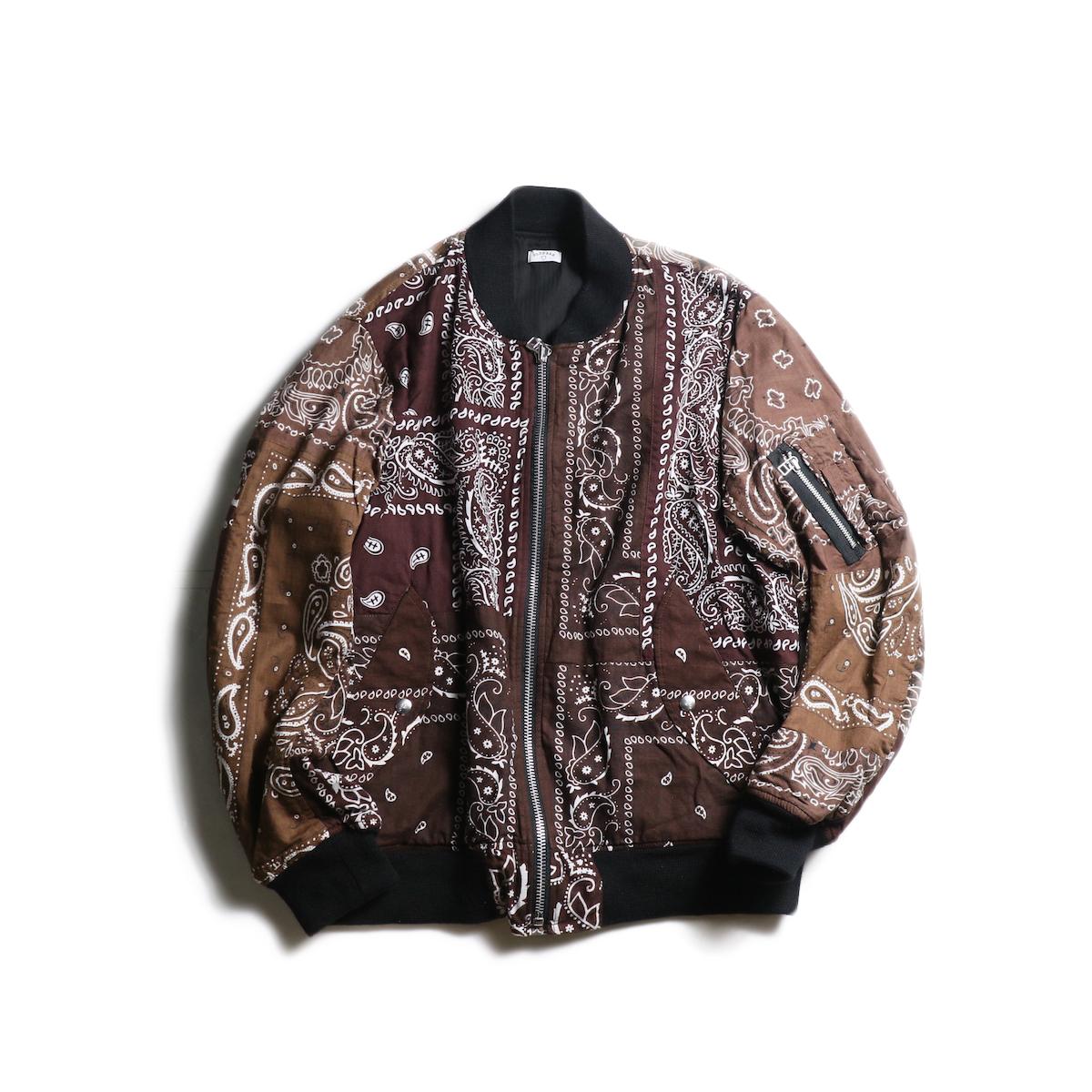 OLD PARK / Flight Jacket (Brown-Lsize)