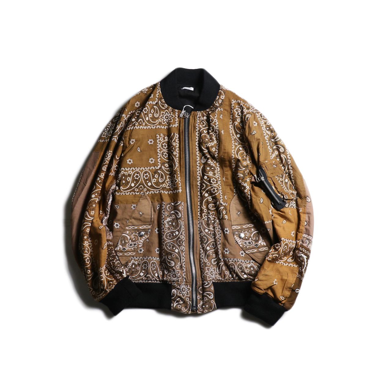 OLD PARK / Flight Jacket (Brown-Msize)