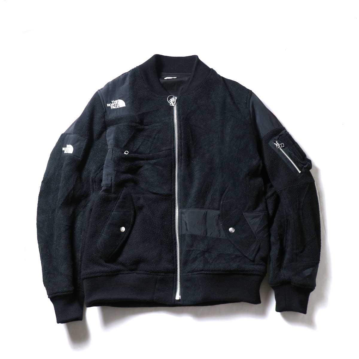 OLD PARK / Flight Jacket Outdoor (Black , XLsize)