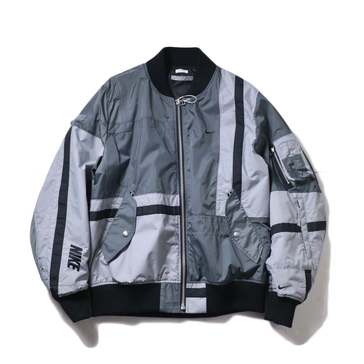 OLD PARK / Flight Jacket Sports (Gray)