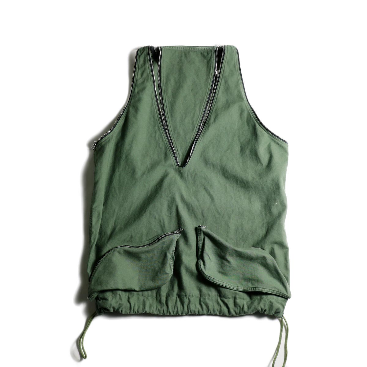 OLD PARK / LAUNDRY VEST BAG -Military