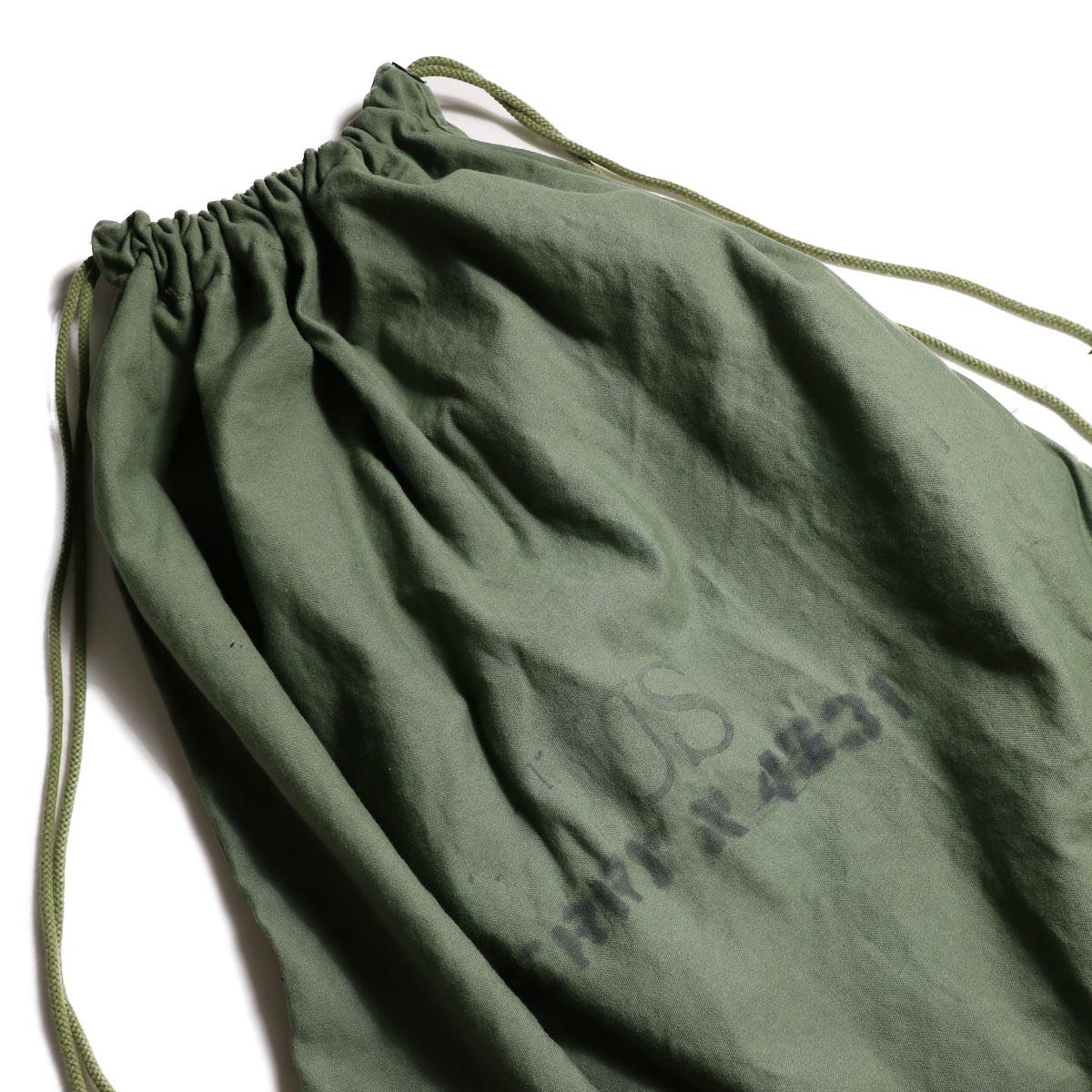 OLD PARK / LAUNDRY VEST BAG -Military スタンプ