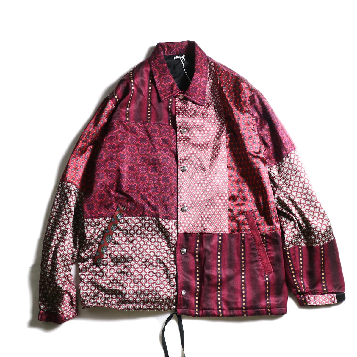 OLD PARK / PAJAMA COACH JACKET (Red)