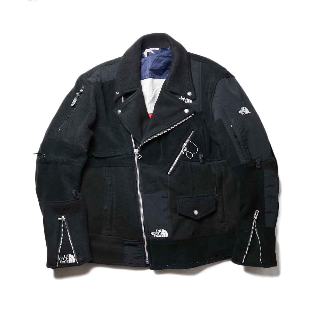 OLD PARK / Oversized Riders Jacket -Outdoor正面