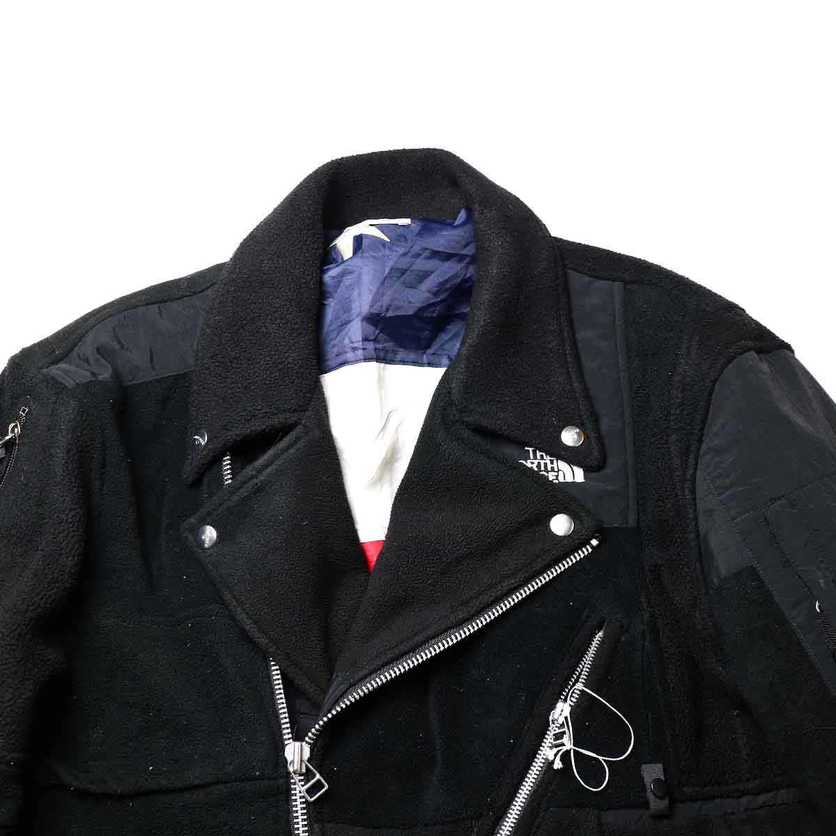 OLD PARK / Oversized Riders Jacket -Outdoor 襟