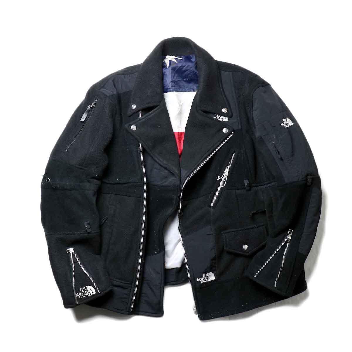 OLD PARK / Oversized Riders Jacket -Outdoor zip開閉