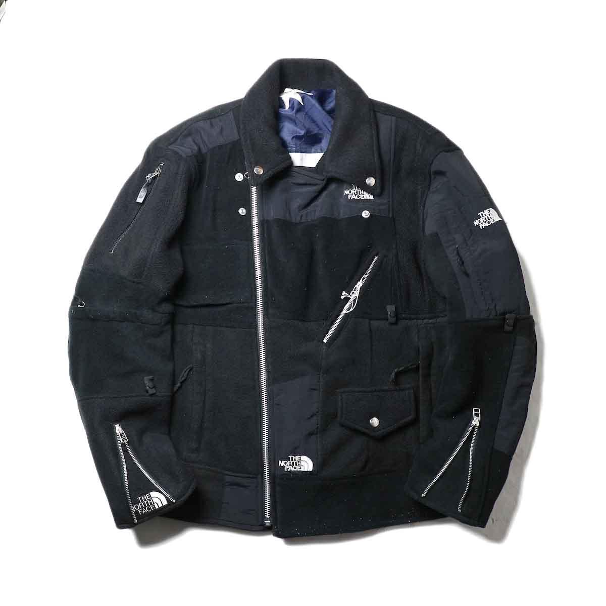 OLD PARK / Oversized Riders Jacket -Outdoor zip閉