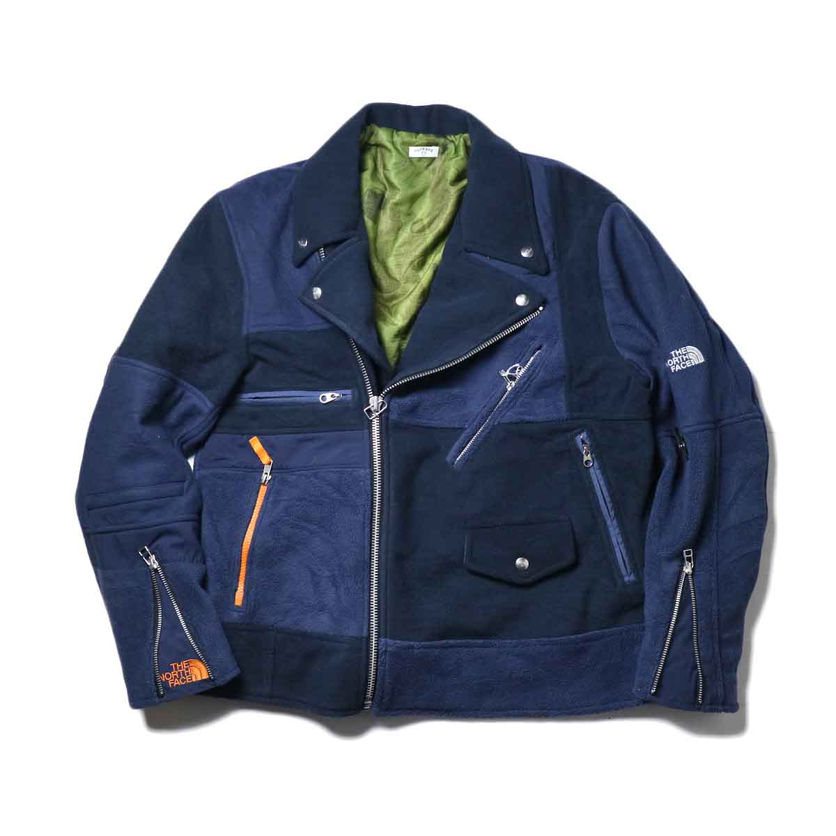 OLD PARK / Oversized Riders Jacket -Outdoor