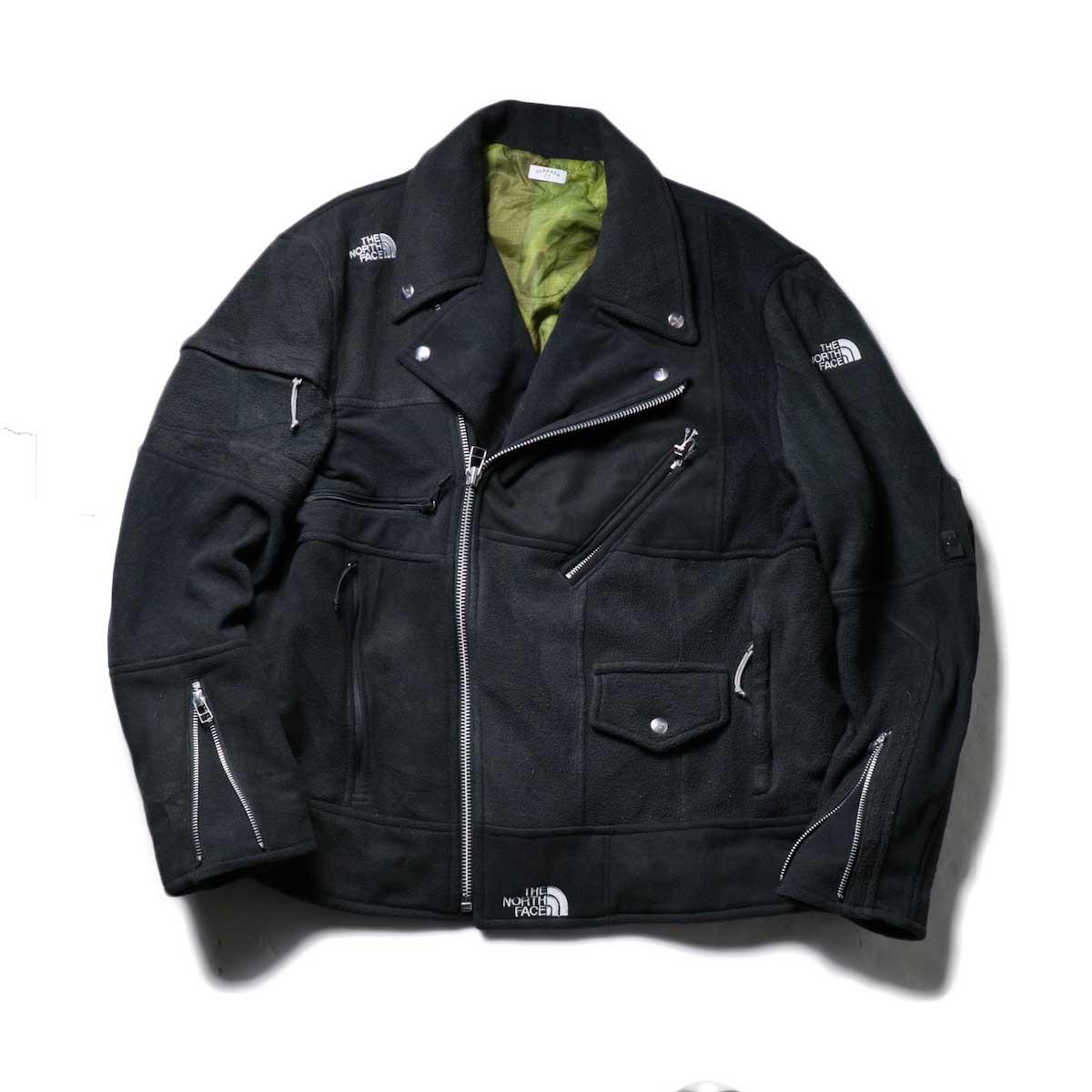 OLD PARK / Oversized Riders Jacket -Outdoor (Black)