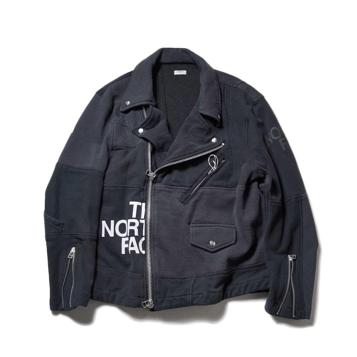 OLD PARK / Oversized Riders Jacket -Sweat-Black