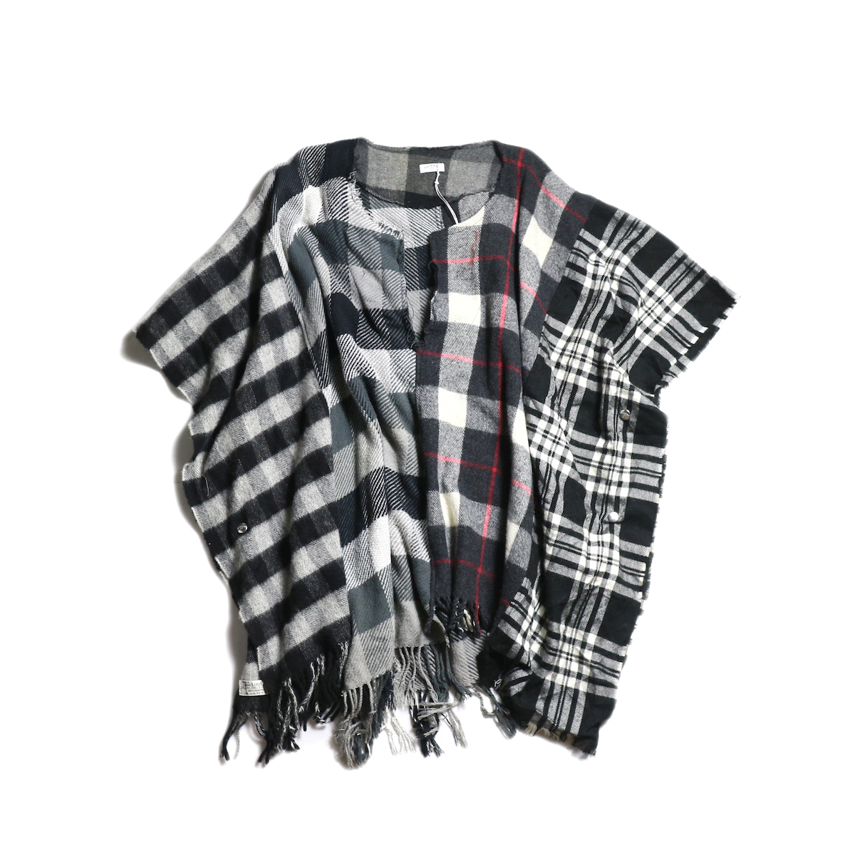 OLD PARK / Scarf Poncho (A)