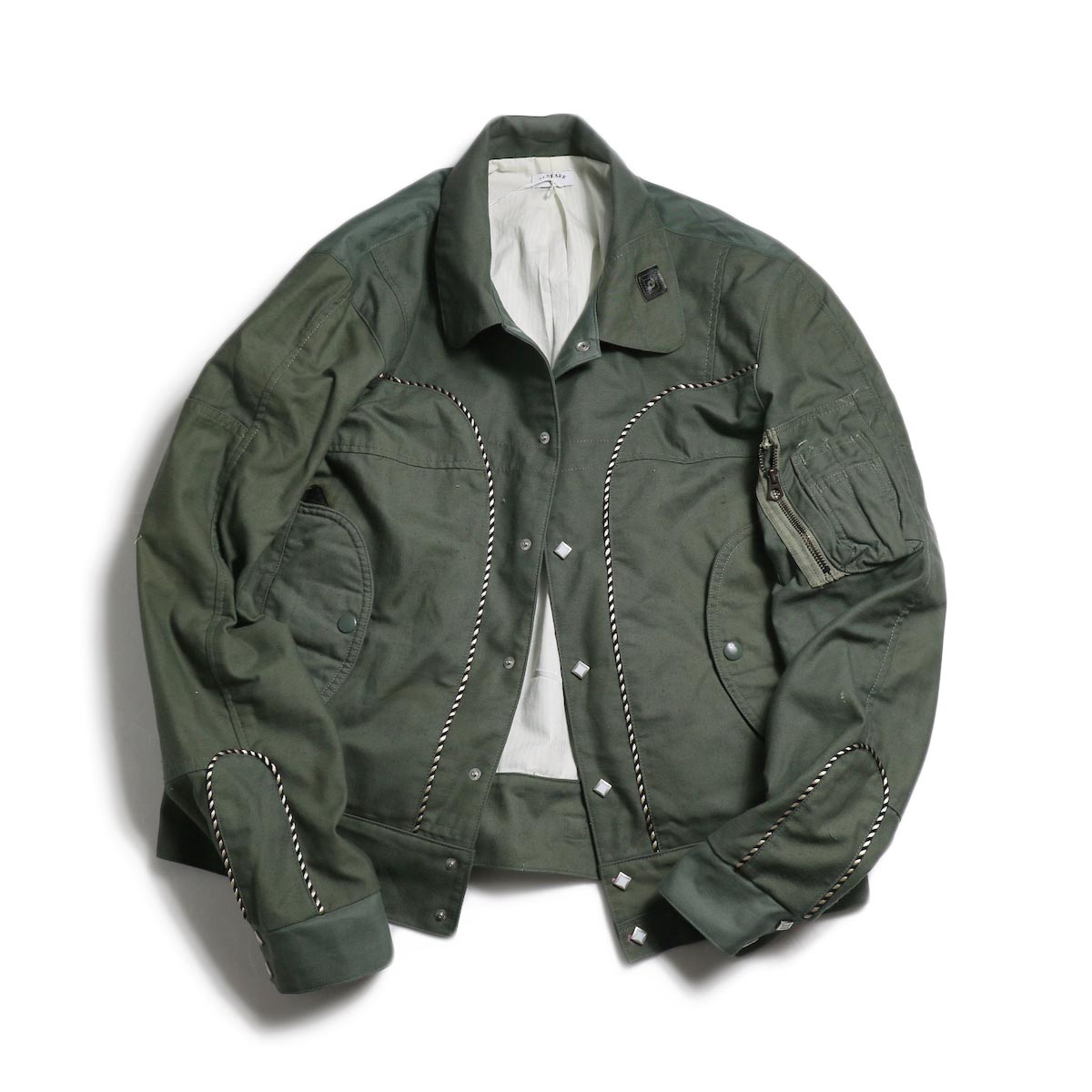 OLD PARK / WESTERN JACKET MILITARY